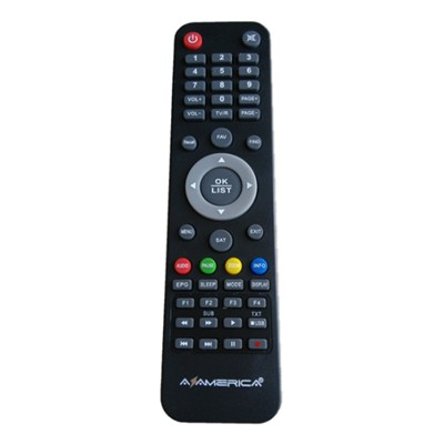 High Quality TV SAT STB Remote Controller For South America