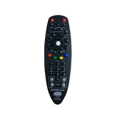Satellite Box D2H-2 Universal Tv Sat Remote Control For India Market