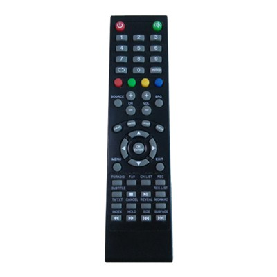 OEM Tv Remote Control Satellite Receiver Remote Control SAT Remote Control 53 Buttons