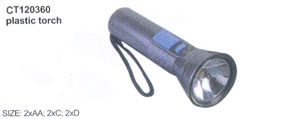 Plastic torch