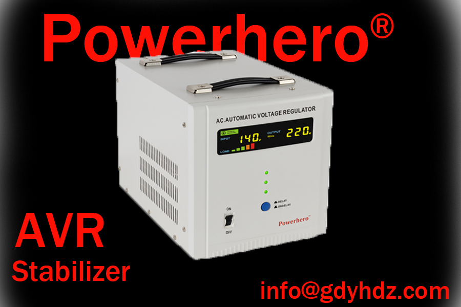 1KVA-20KVA  AVR/voltage stabilizer with toroidal transformer/colorful display
