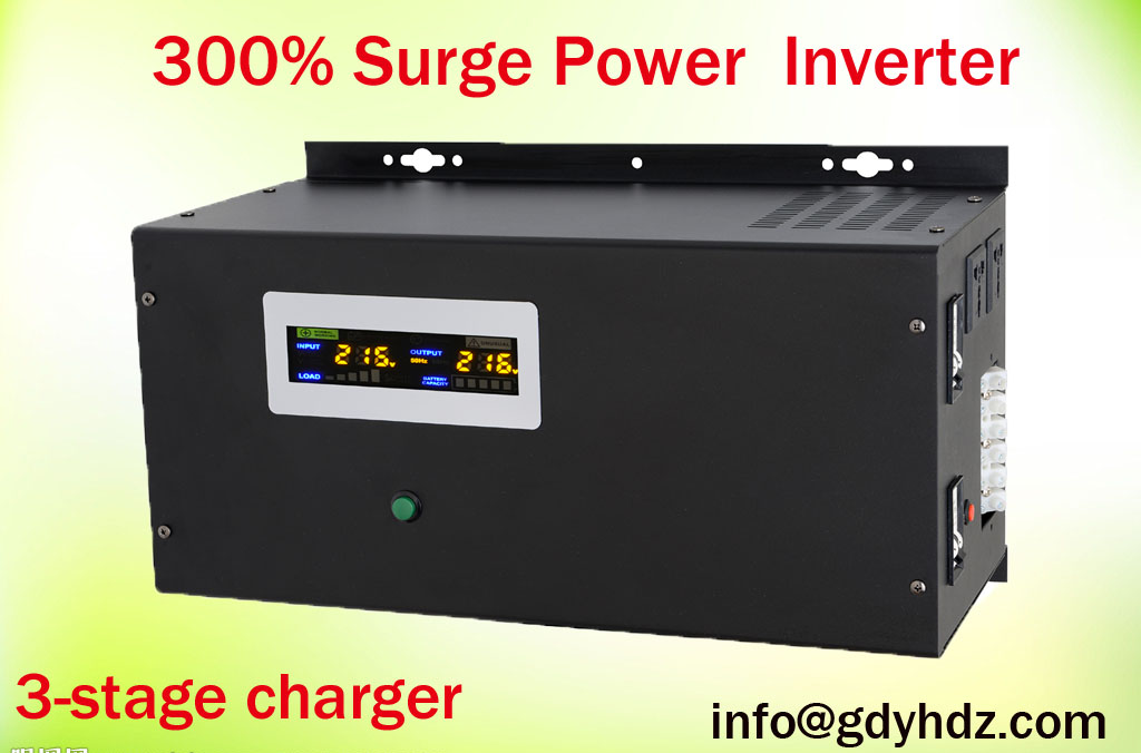 Low-voltage Big-power inverter/UPS 300% surge power
