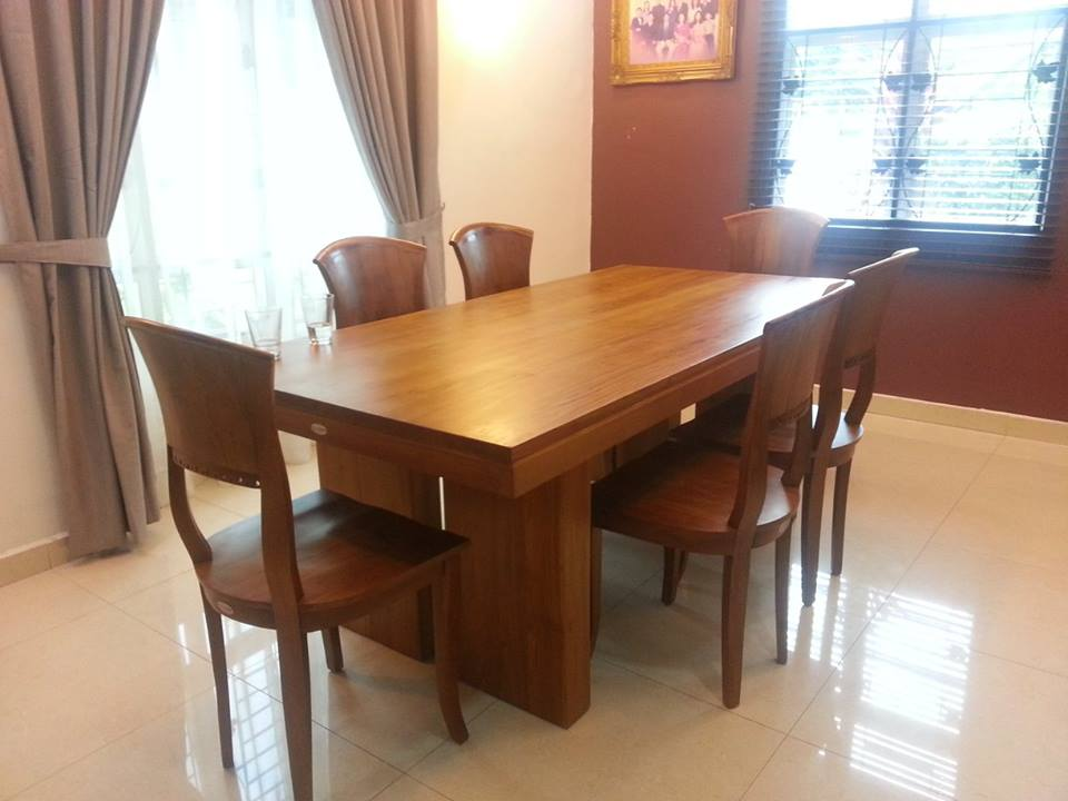 dining table teak dining table teak wood dining table dining room furniture in - Teak Wood Dining Table