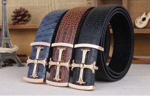 The High Quality Cowhide Men Leisure Belt