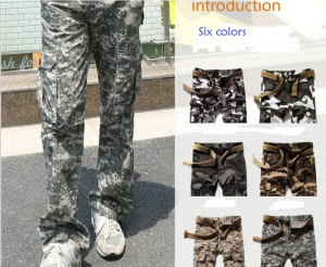Camouflage Popular Men's Trousers