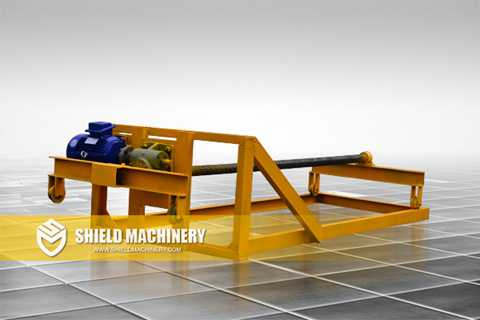 Foam Concrete Brick Machine Push Car