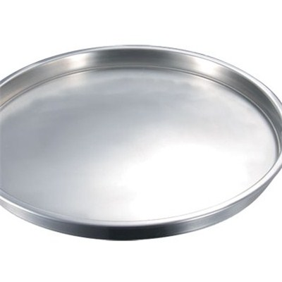 WT007 Stainless Steel Barware Large Serving Tray Wine Tray Bar Tray Round Tray
