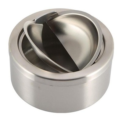 AS011 Stainless Steel Barware Round Shape Waterproof Cigar Ashtrays Good Quality