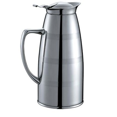 SK001 Stainless Steel Barware Water Pitcher Ice Kettle Water Jug with Handle and Lid