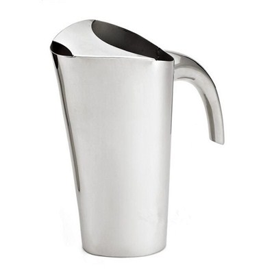 SK002 Stainless Steel Barware Water Pitcher Ice Kettle Water Jug with Handle and Lid