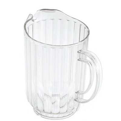 SK003 Stainless Steel Barware Water Pitcher Ice Kettle Water Jug with Handle and Lid Plastic Pitcher