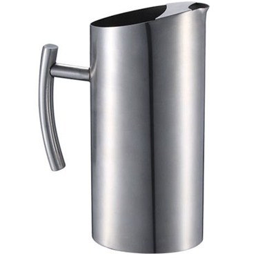SK006 Stainless Steel Barware Water Pitcher Ice Kettle Water Jug with Handle