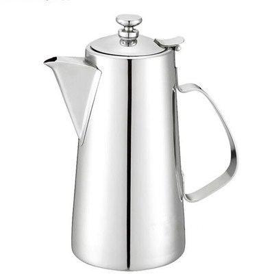 SK010 Stainless Steel Barware Water Pitcher Ice Kettle Water Jug with Handle and Lid