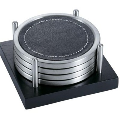 CA003 Stainless Steel Barware Coasters with Base EVA Backing