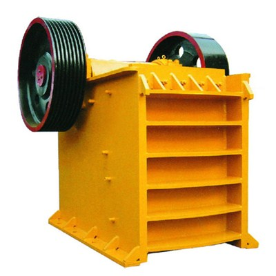 PE Welded Shell Jaw Crusher