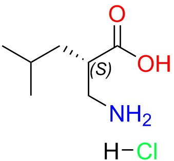 (S)-2-(aminomethyl)-4-methylpentanoic Acid-HCl