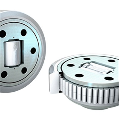 Combined Bearings For Heavy Loads Adjustable From Outside For Steel Sections