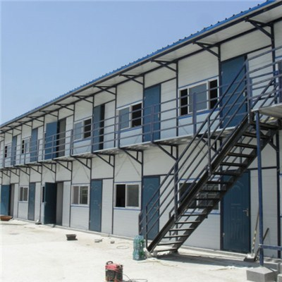 Double Slope Prefabricated House