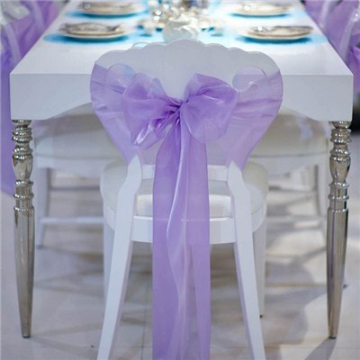 Chair Sashes For Table Decoration