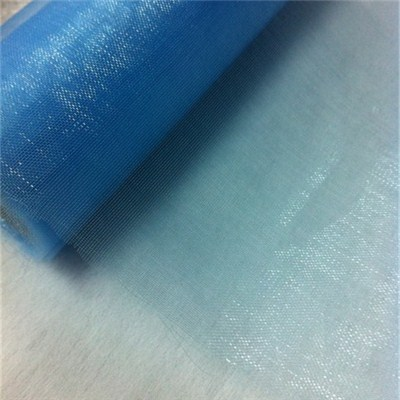 Blue Organza Chair Sash