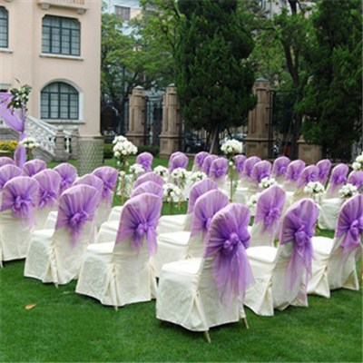 White Chair Cover For Wedding