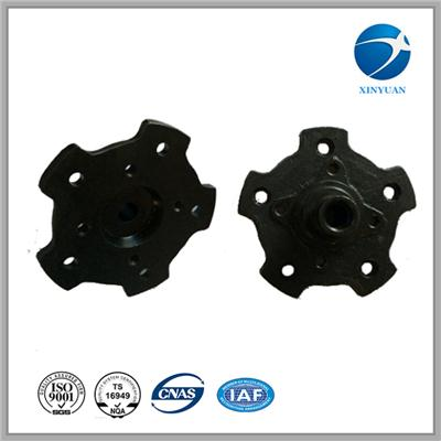 Casting Iron Front Wheel Hub Machined Sand Casting