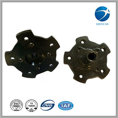 Casting Iron Front Wheel Hub Casting Parts