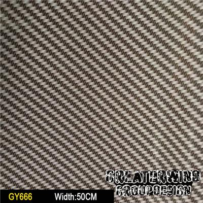 Carbon Fiber Hydrographic Film GY666 Carbon Water Transfer Printing Film