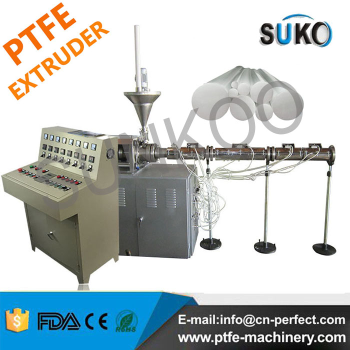 Teflon PTFE Rod Ram Extruder Machine PFB80 Dia 25mm-80mm
