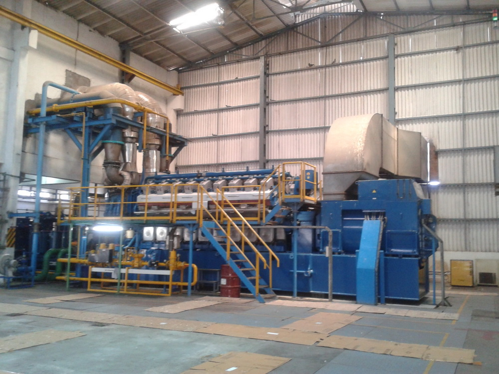 6 MW Wartsila 18V34SG Gas base DG sets available for Sale