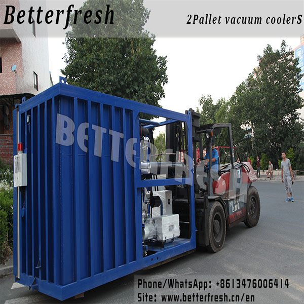 Betterfresh pre coolers Vacuum coolers for vegetables Cauliflower Kohlrabi Cress Bread Lettuce Broccoli