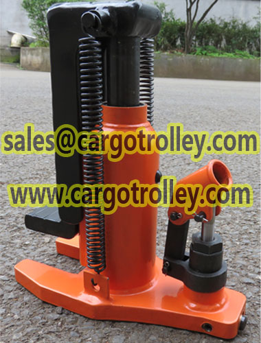 Toe jack applications and price list