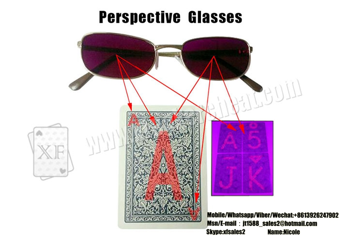 XF Perspective Glasses For Marked Cards See Through Invisible Ink