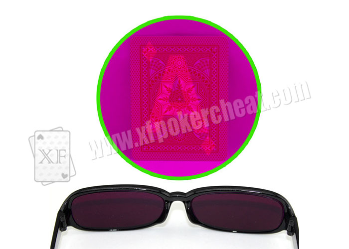 Poker Cheat Plastic Purple Perspective Glasses For Marked Cards Poker