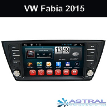 Aadroid Quad Core Car GPS Navigation for VW Fabia 2015 car Radio Bluetooth Wifi 3G TV
