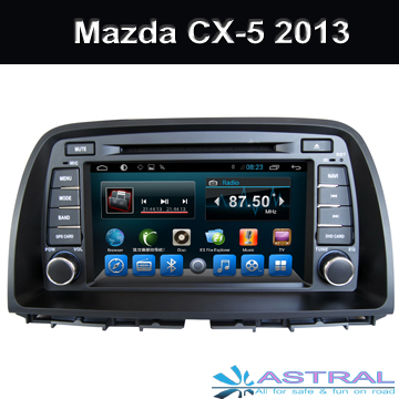 2 Din Quad Core Car Multimedia Player GPS Navi Mazda CX-5 2013 (high level and low level) Built in Wifi 3G Bluetooth