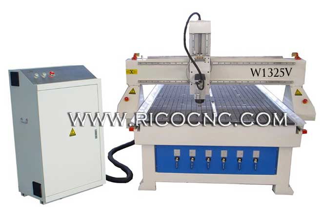 Machine Wood Panel Carving CNC Router Machine W1325V