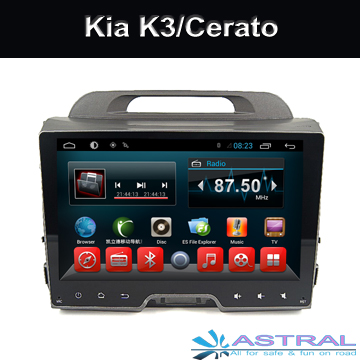 Android4.4 Car DVD Player for Kia Sportage Car Radio GPS Navigation with BT Wifi 3G TV