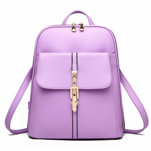 PU women backpack