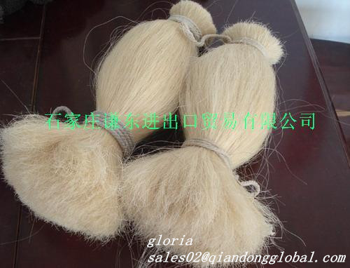 dyed cattle tail hair