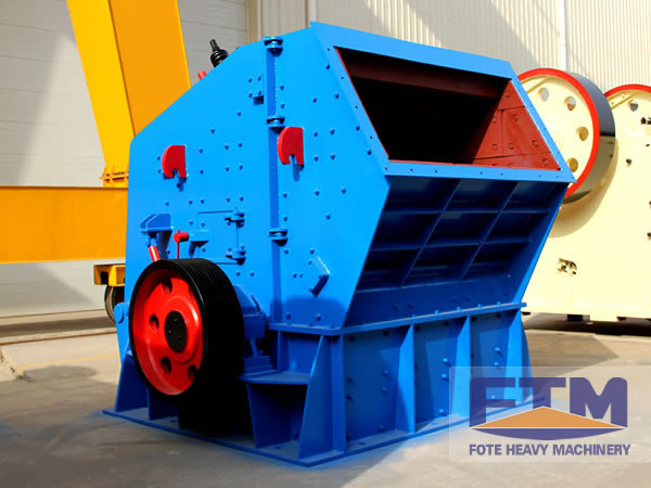 Working Principle of FTM Impact Crushing Machine