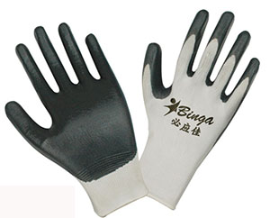 Nitrile Coated 13G Nylon Shell Safety Glove