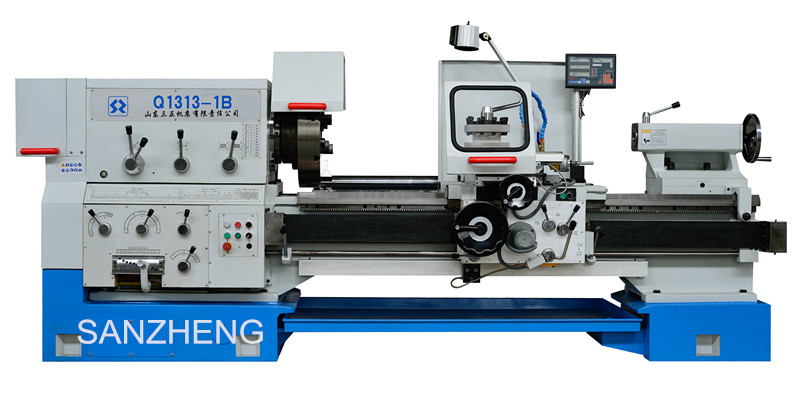 CK6163 cnc lathe machine for steel pipe/drill
