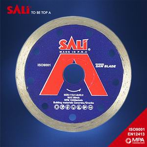 Continues Rim Diamond Saw Blade