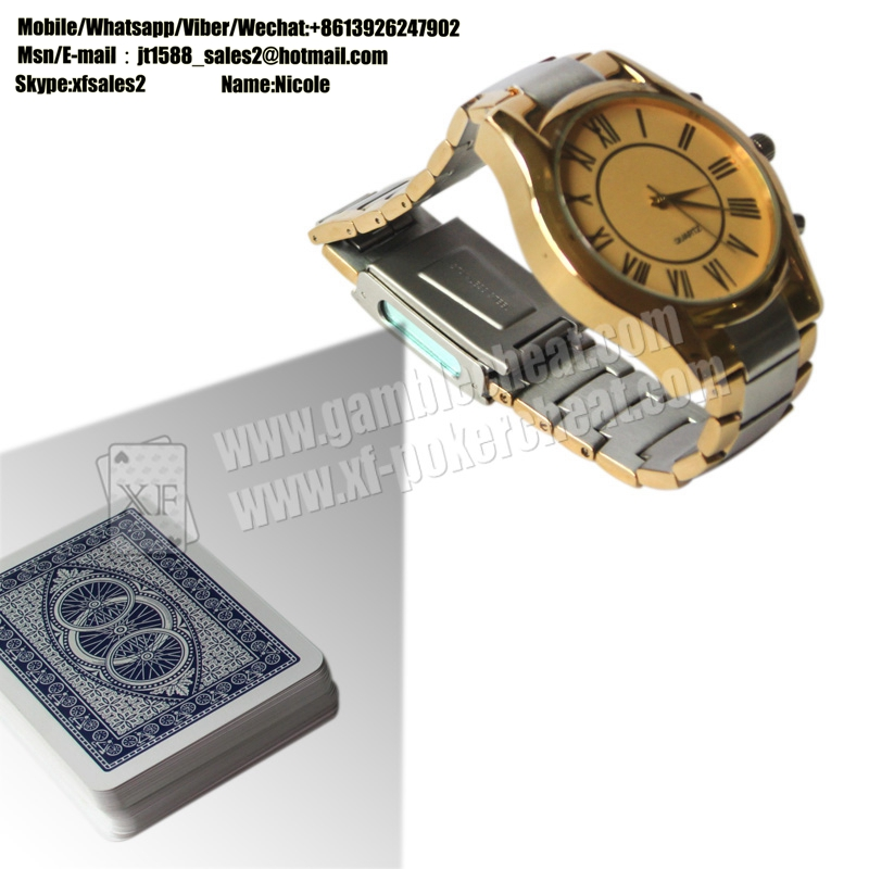 6cm To 12cm Distance Watch Camera Poker Card Reader For Poker Analyzer