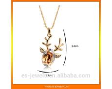 Contact NowDeer Style Christmas Pendant Necklace Jewelry Manufacturer