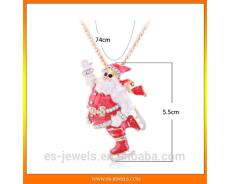 Fashion Father Christmas Pendant Jewelry ES1059