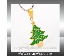 Christmas Pendant Tree Style Jewelry Manufacturer ES0197