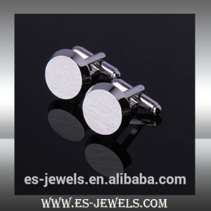 3mm Round Stainless Steel Cuff Links ESXK0023