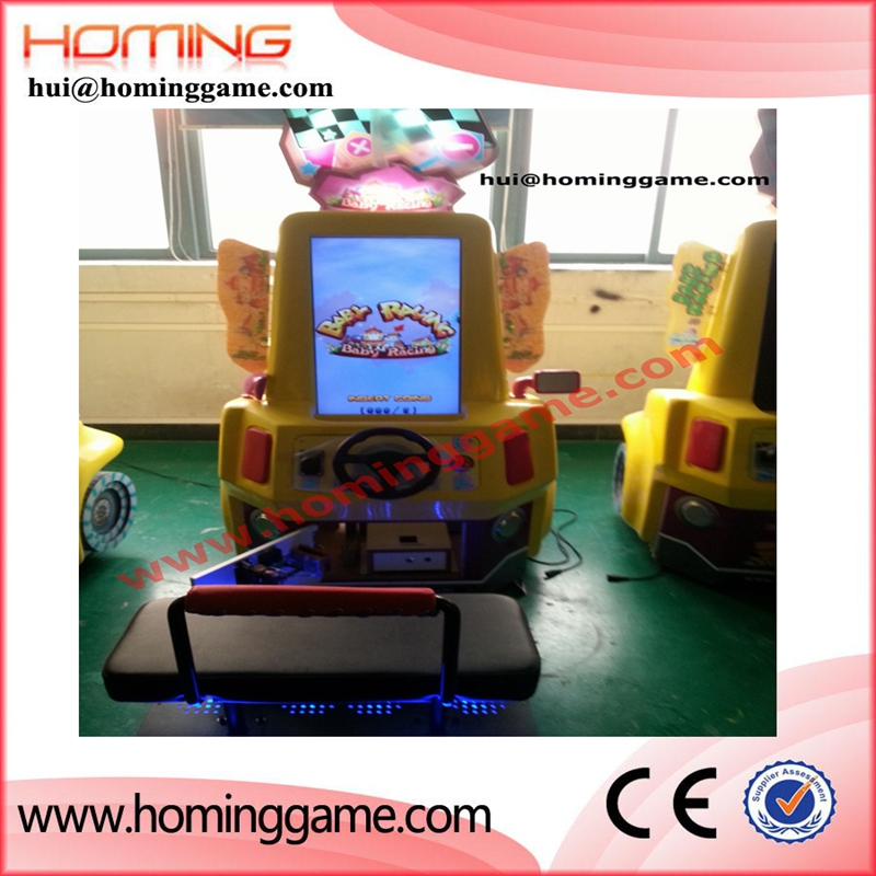 Simulator baby racing car lottery arcade game machine chinese boy